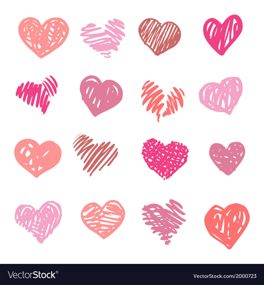 Love heart isolated vector   Price: 1 Credit (USD $1)