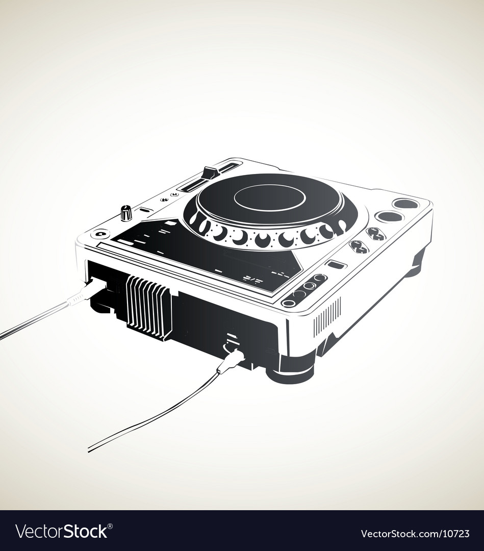 Remote dj vector | Price: 1 Credit (USD $1)