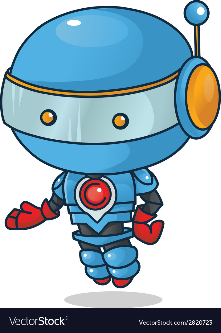 Robot mascot vector | Price: 1 Credit (USD $1)