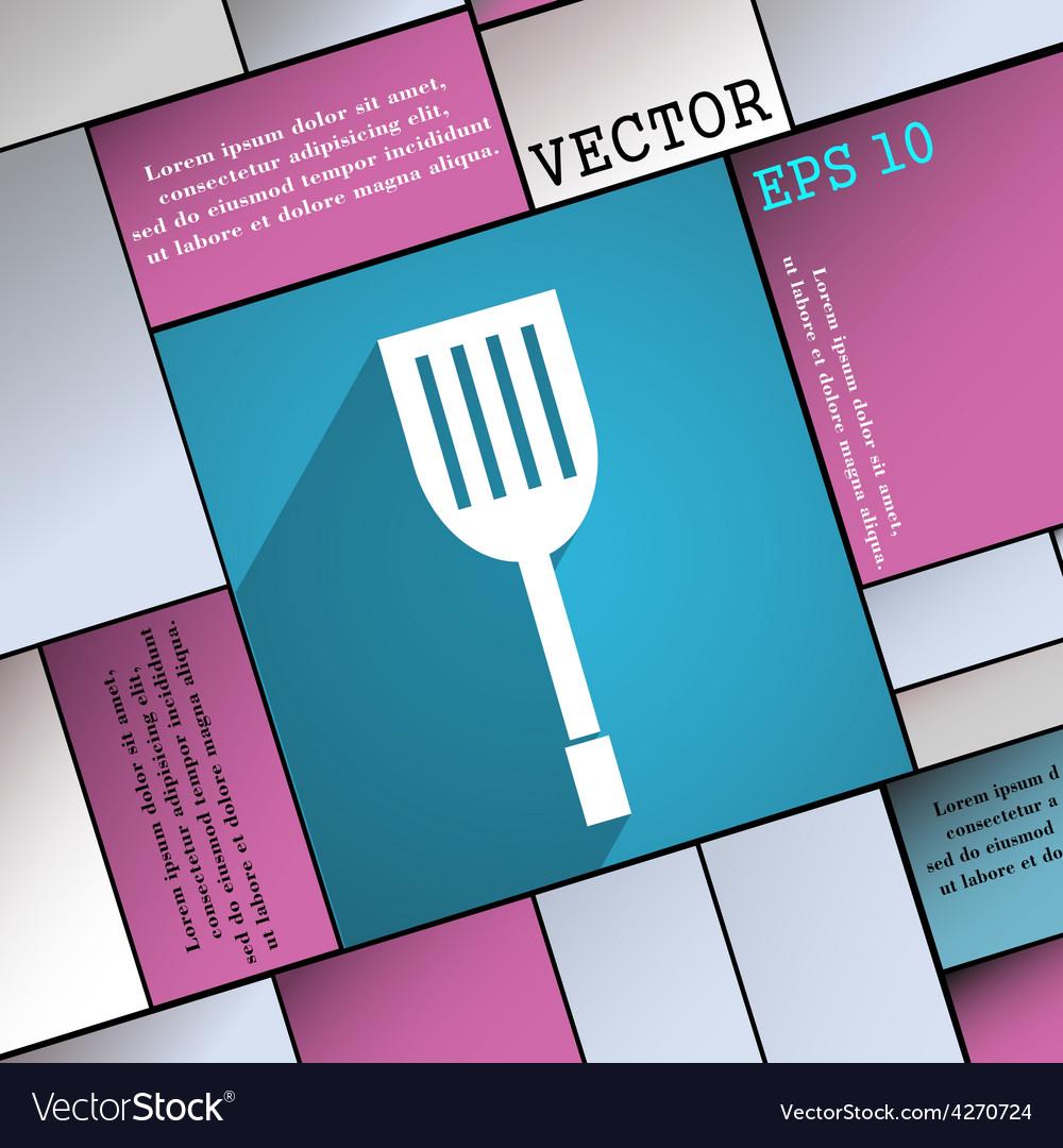 Kitchen appliances icon symbol flat modern web vector | Price: 1 Credit (USD $1)