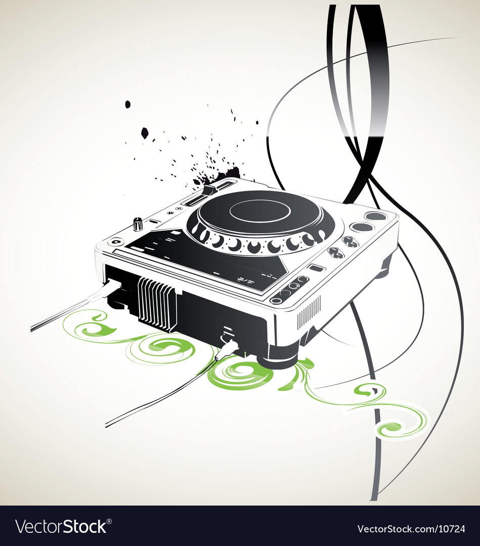 Remote dj vector | Price: 3 Credit (USD $3)