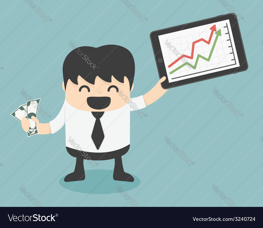 Successful business people from playing the stock vector | Price: 1 Credit (USD $1)