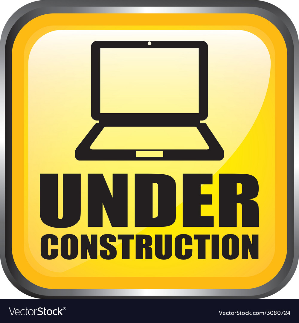 Web under construction design vector | Price: 1 Credit (USD $1)