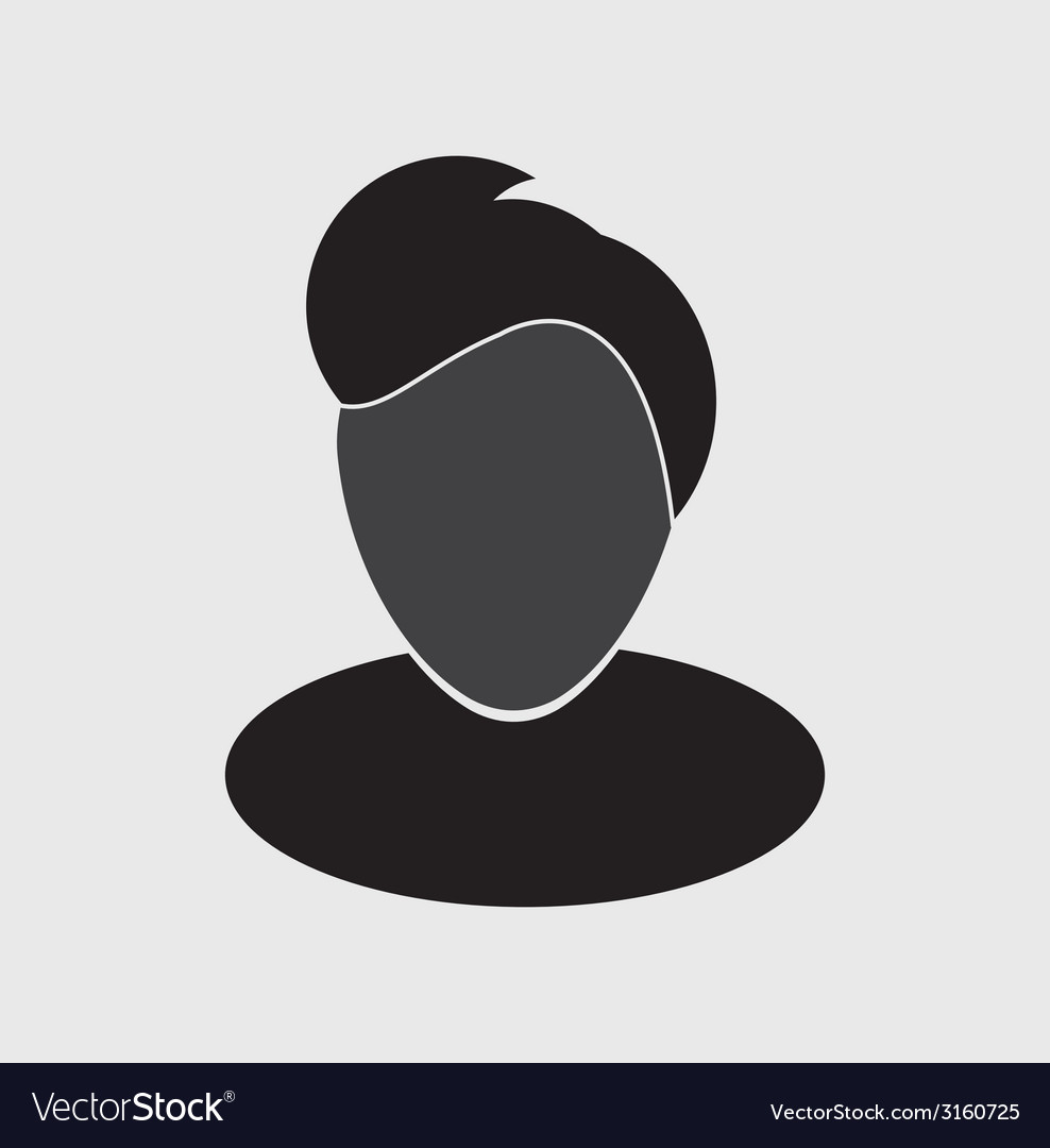Avatar icon vector | Price: 1 Credit (USD $1)