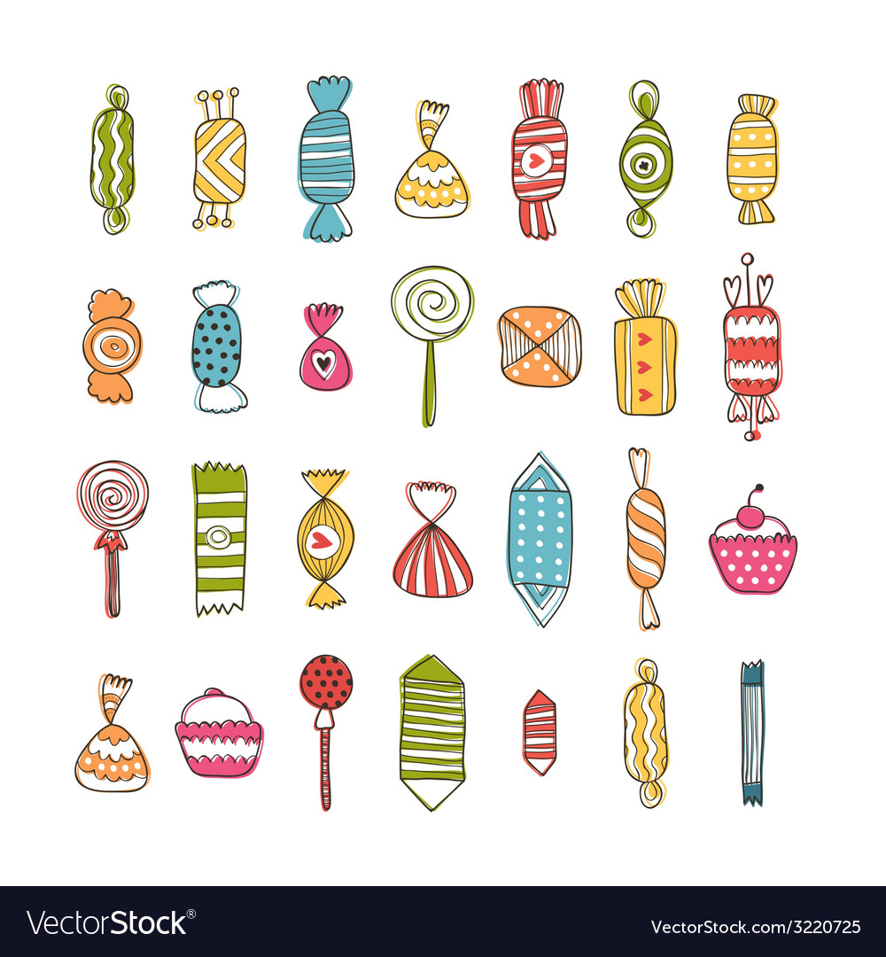 Sweet collection vector | Price: 1 Credit (USD $1)