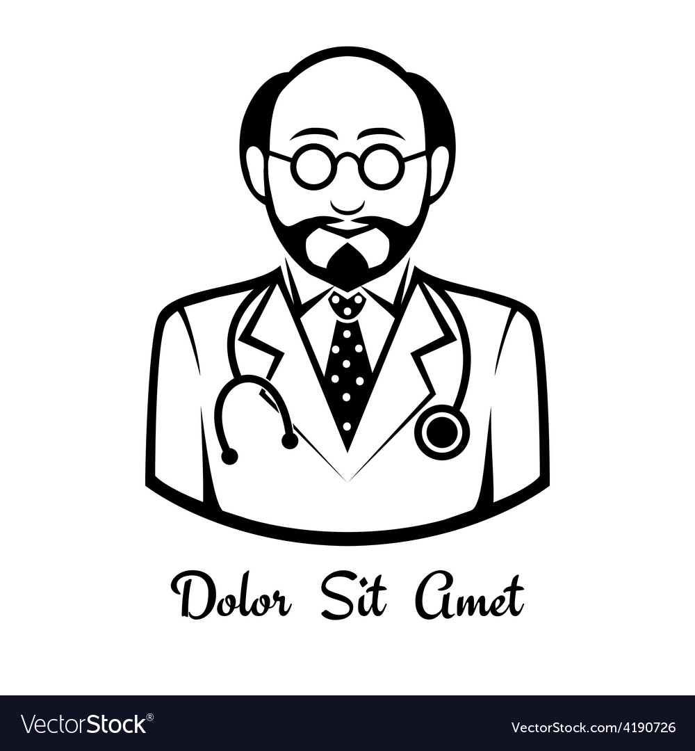 Doctor icon vector   Price: 1 Credit (USD $1)