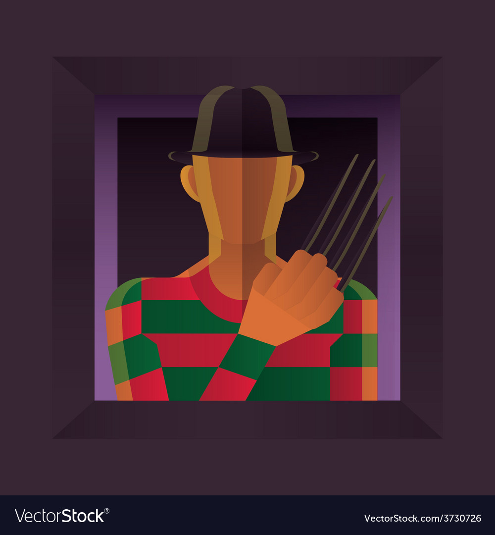 Freddy krueger vector | Price: 1 Credit (USD $1)