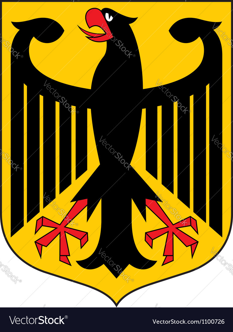 Germany coat of arms vector | Price: 1 Credit (USD $1)