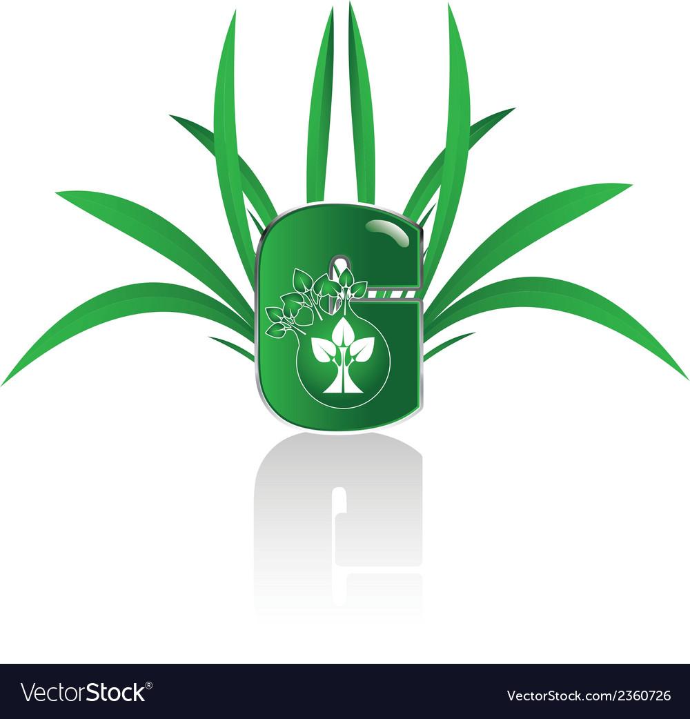 Green c n vector | Price: 1 Credit (USD $1)