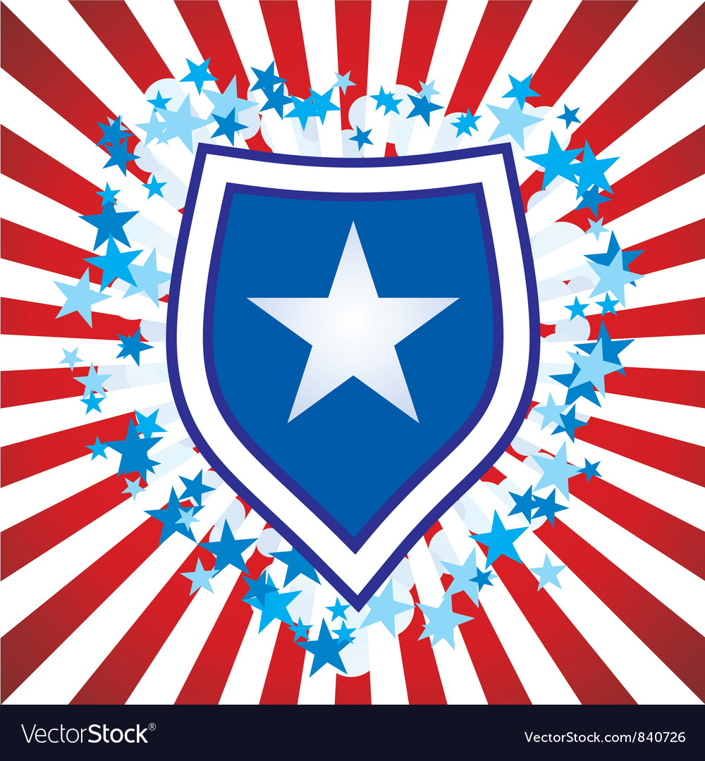Stars stripes converted vector | Price: 1 Credit (USD $1)