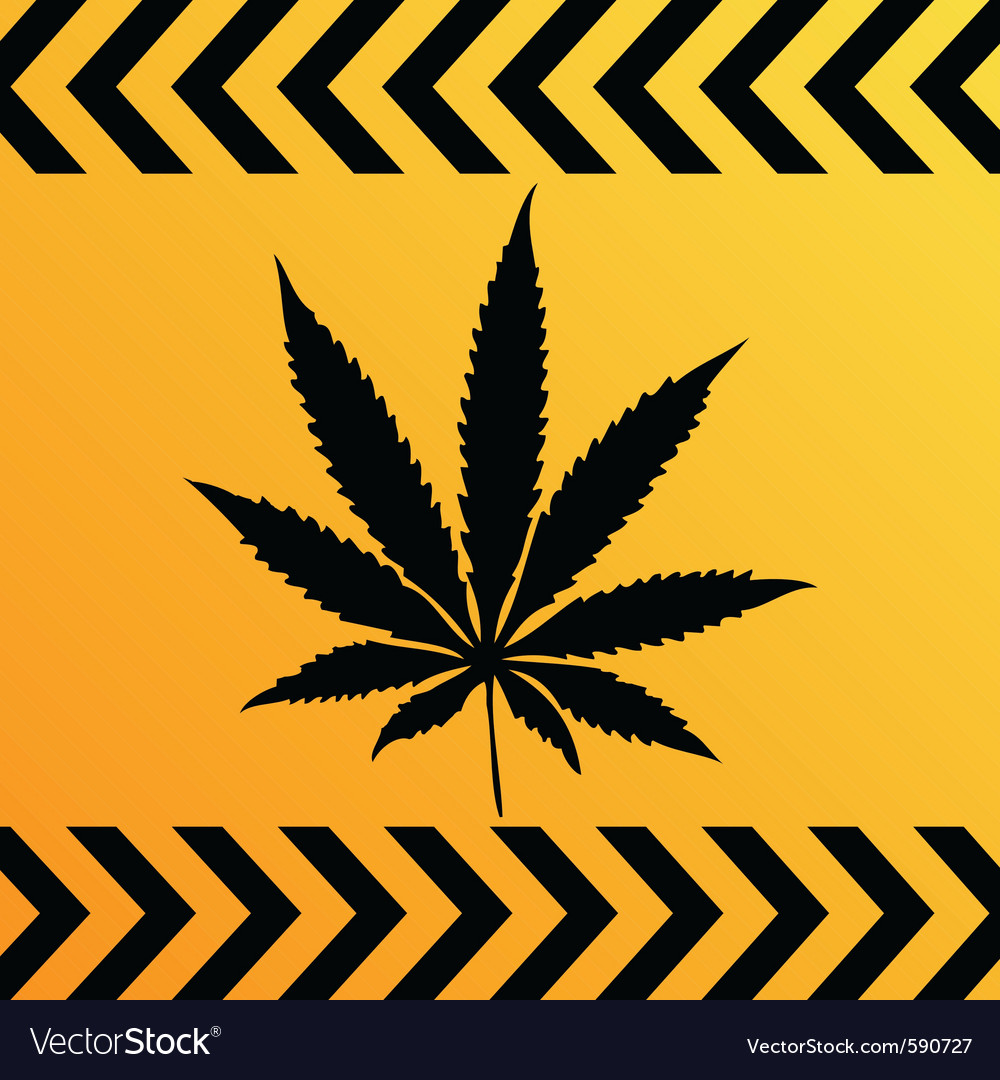 Sign of marijuana vector | Price: 1 Credit (USD $1)