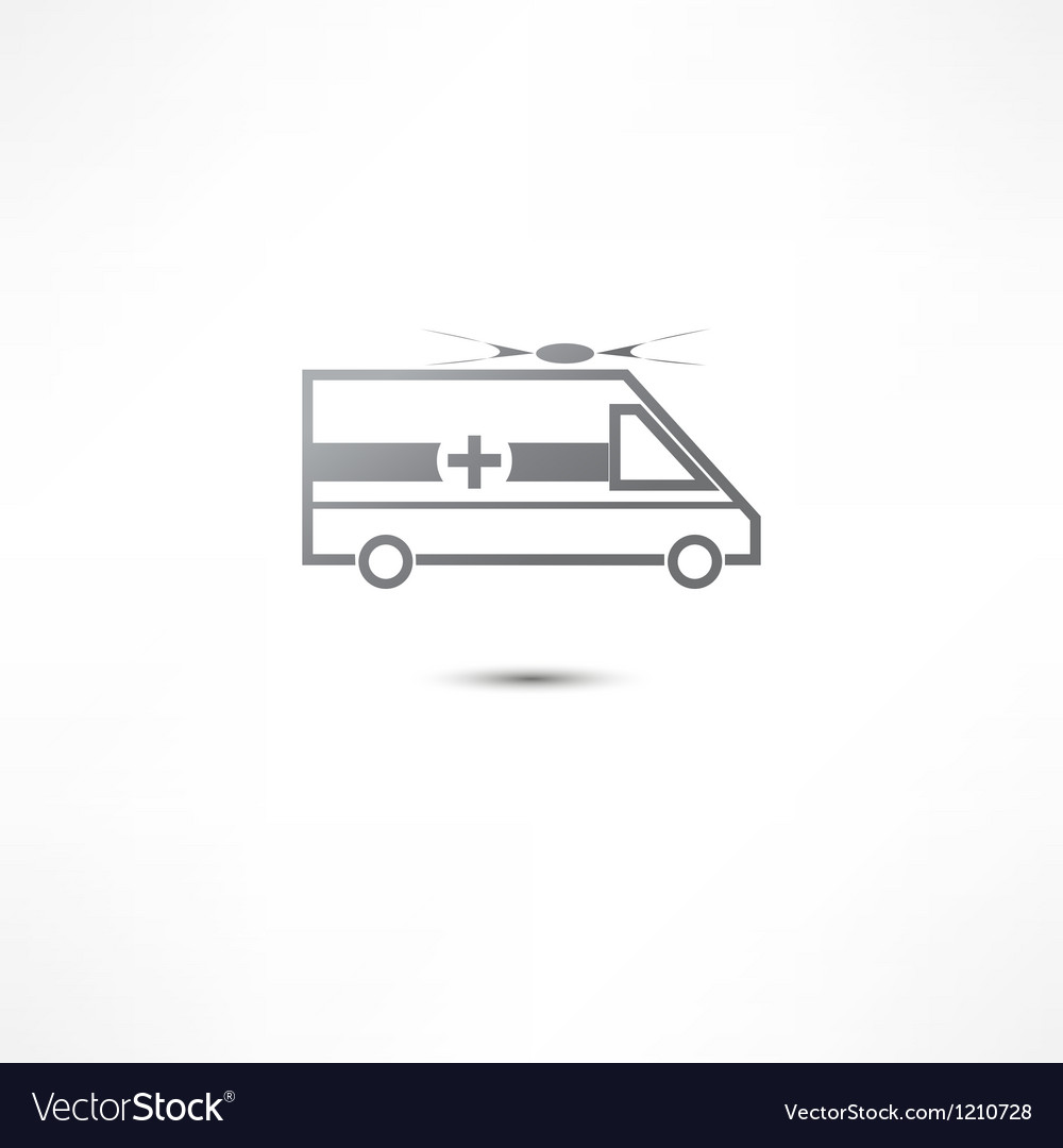 Ambulance icon vector | Price: 1 Credit (USD $1)