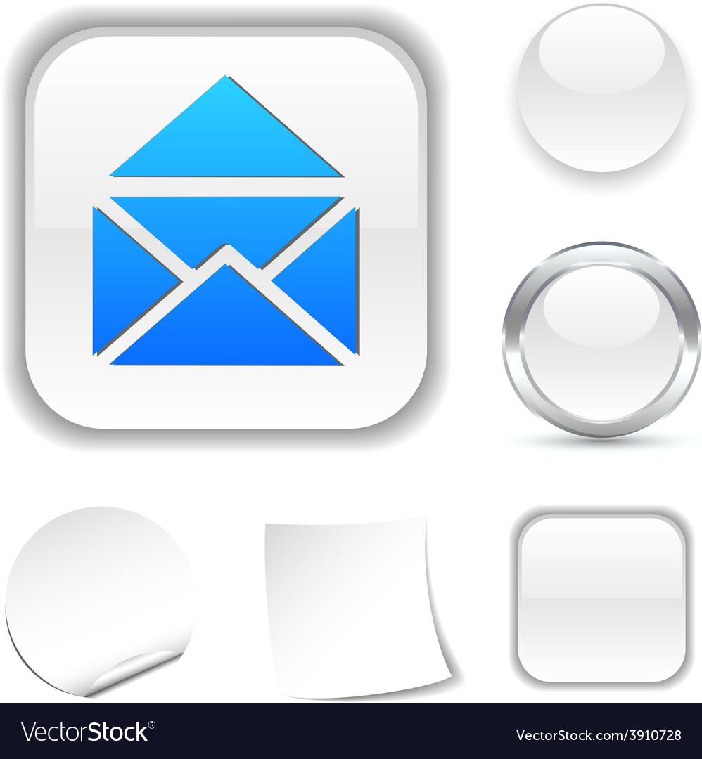 E-mail icon vector | Price: 1 Credit (USD $1)