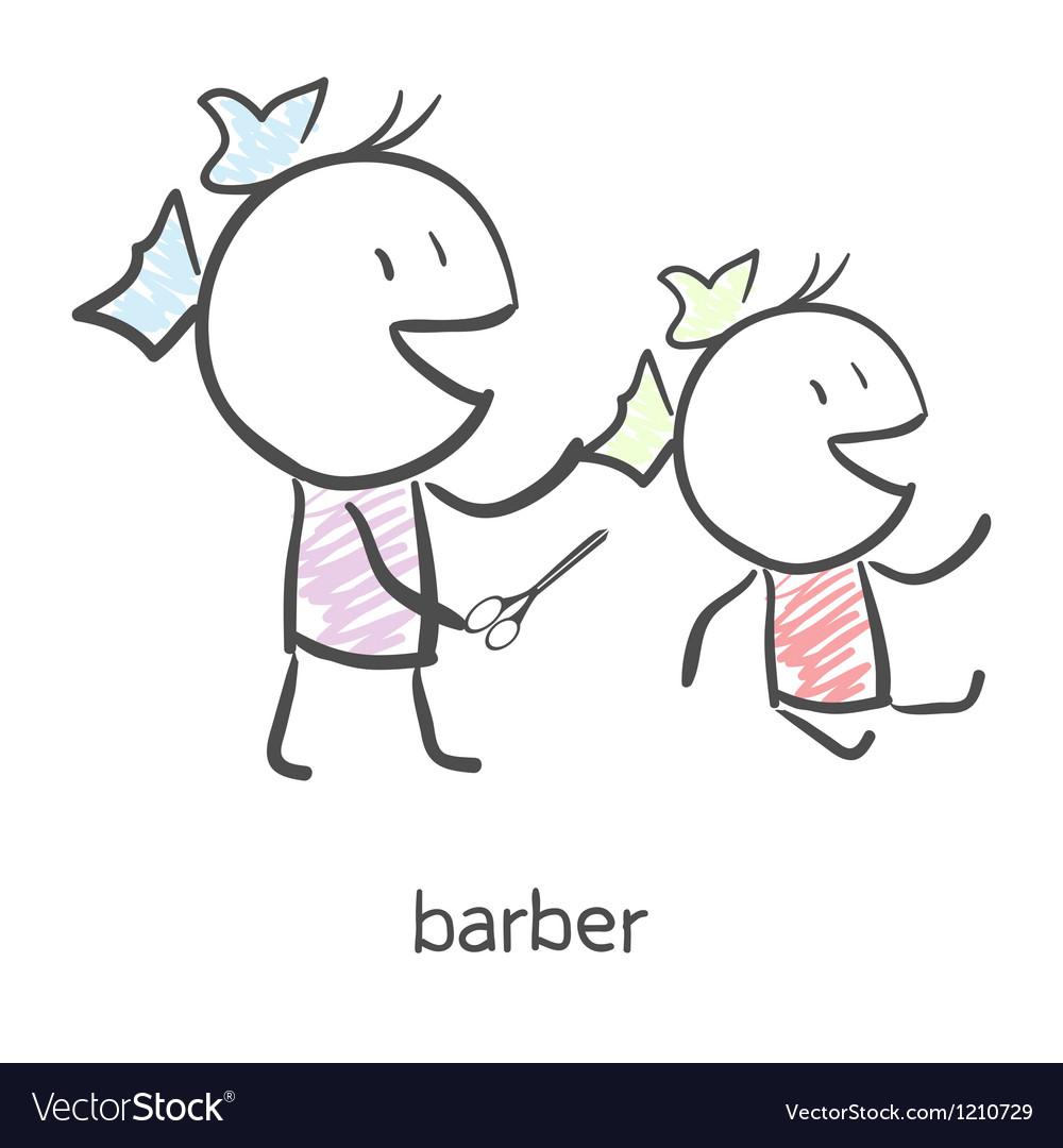 Barber vector | Price: 1 Credit (USD $1)