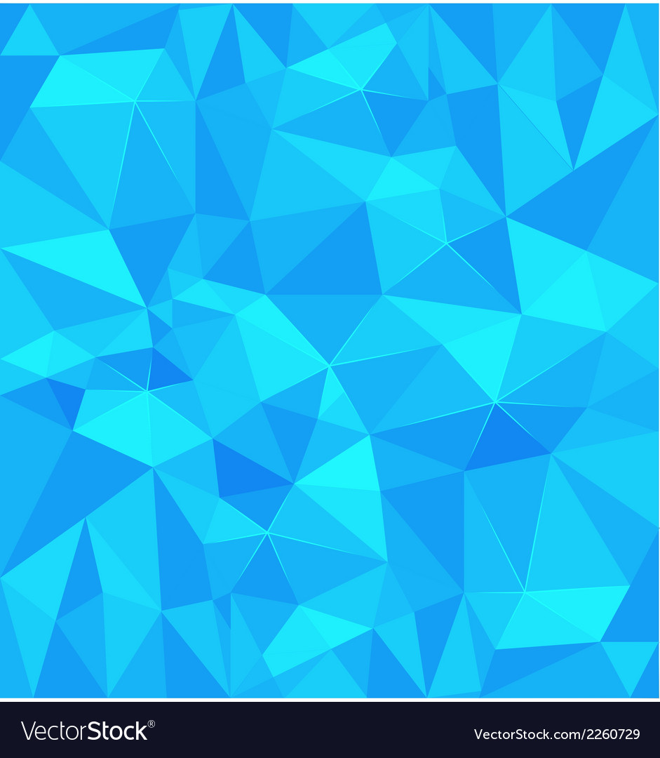 Blue polygonal background vector | Price: 1 Credit (USD $1)
