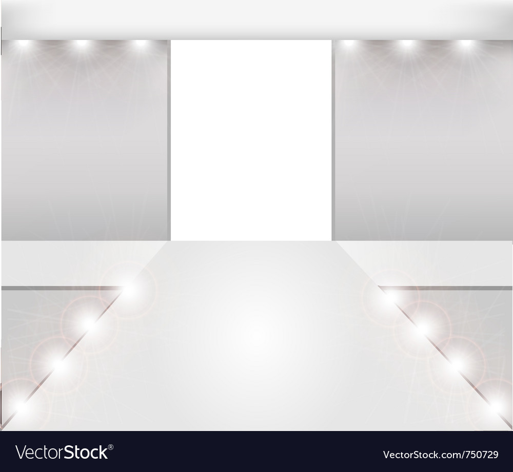 Empty fashion runway vector | Price: 1 Credit (USD $1)