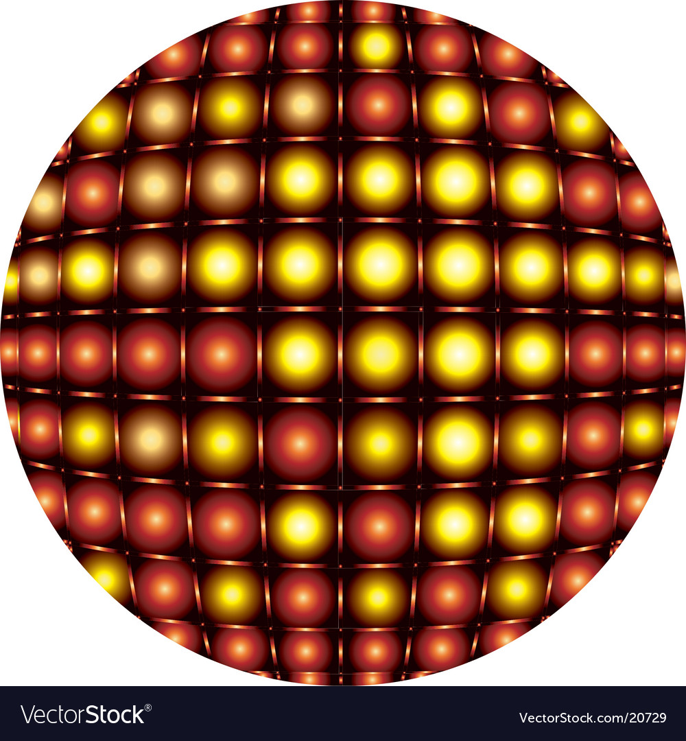 Sphere light pattern vector | Price: 1 Credit (USD $1)