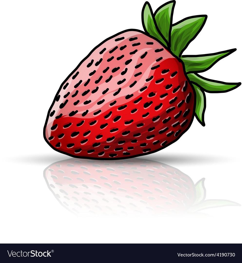 Strawberry vector   Price: 1 Credit (USD $1)