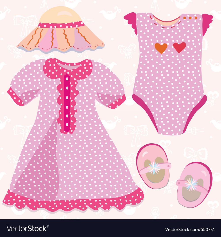 Baby costume vector | Price: 1 Credit (USD $1)