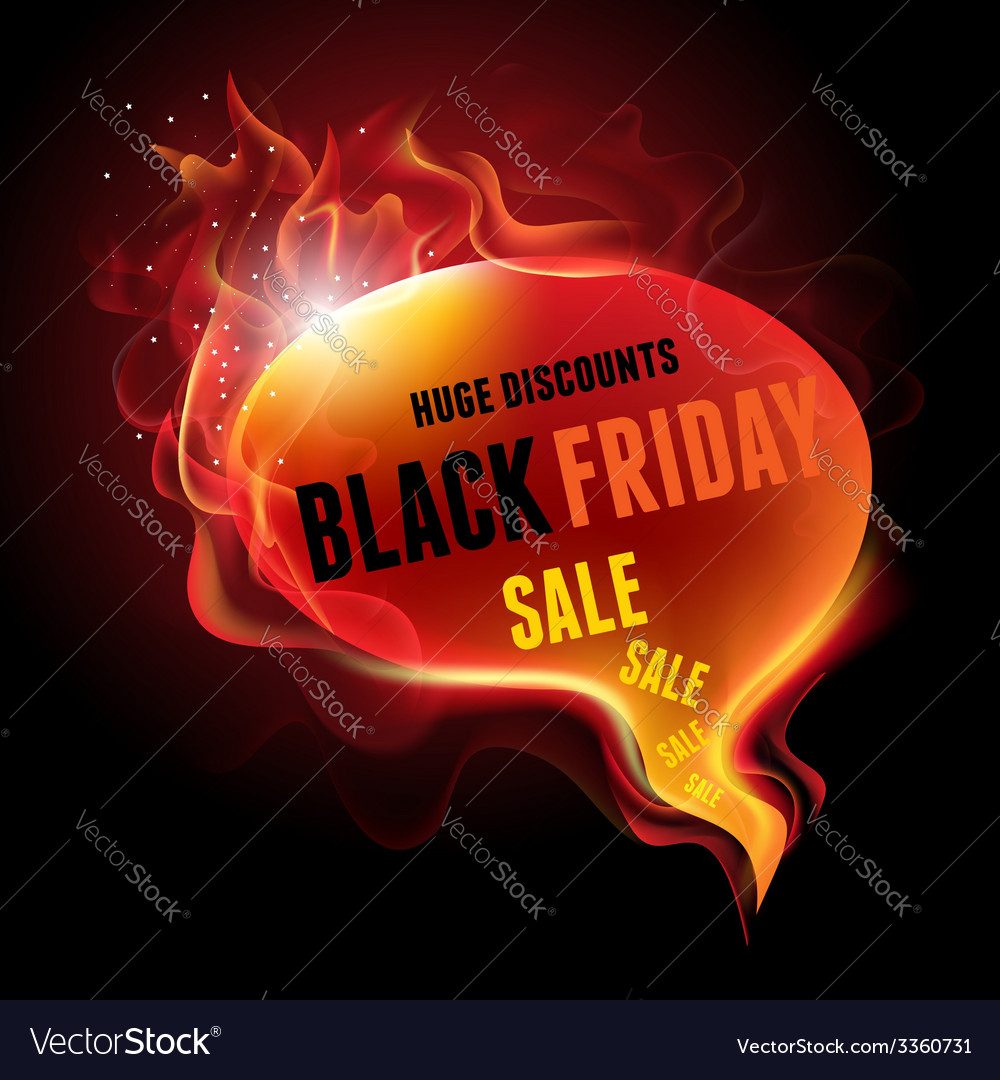 Black friday sale vector | Price: 1 Credit (USD $1)