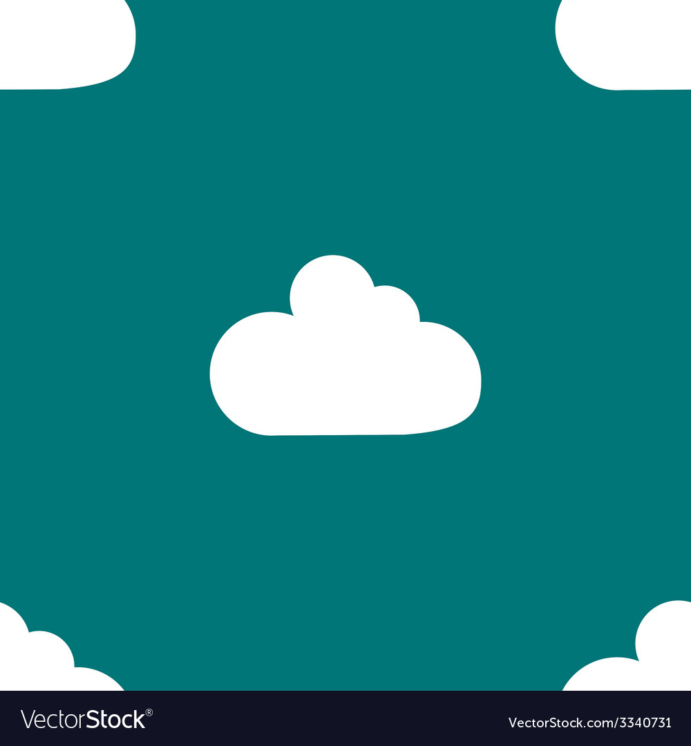 Cloud download application web iconflat design vector | Price: 1 Credit (USD $1)