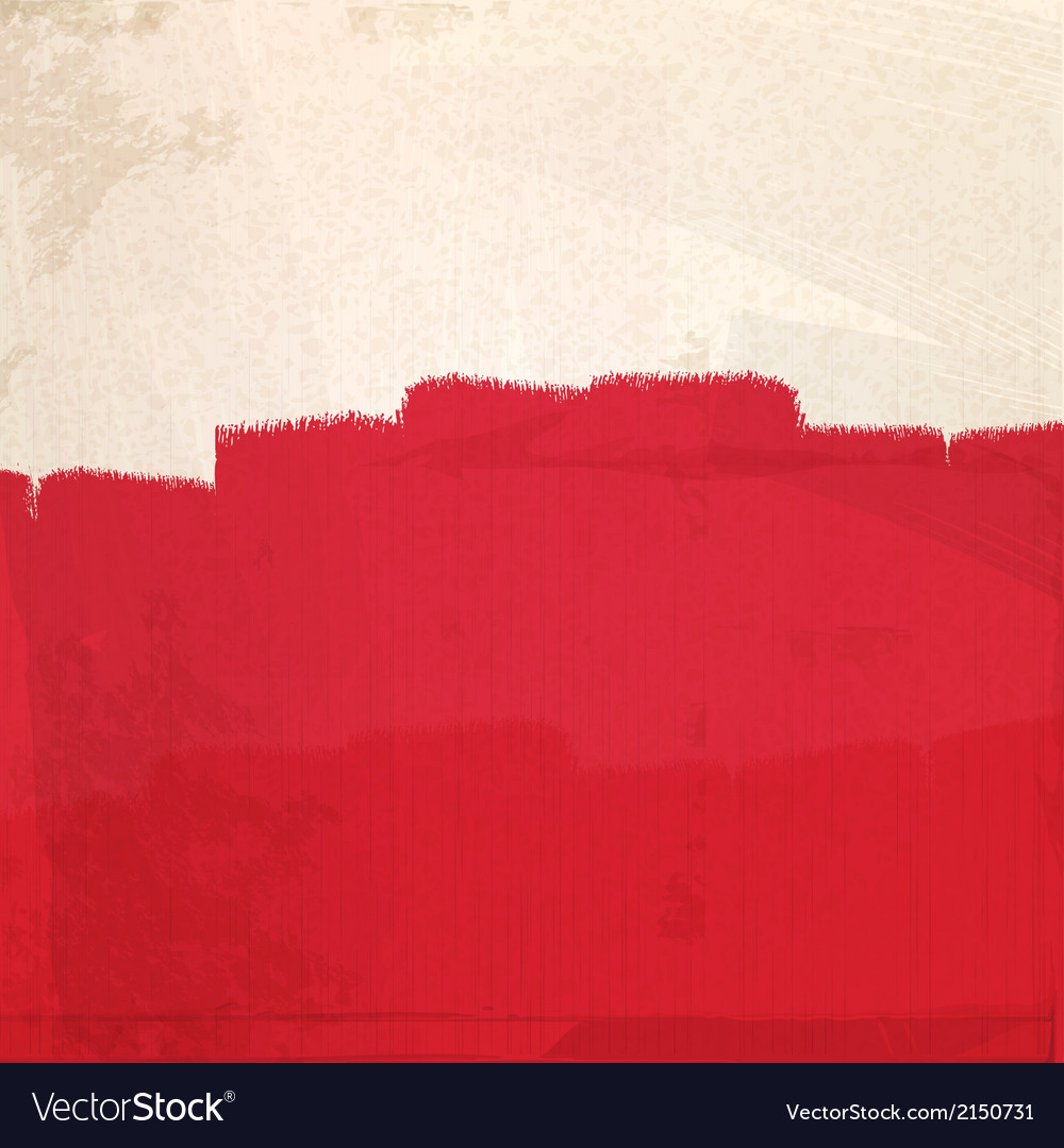 Grungy red paint vector | Price: 1 Credit (USD $1)