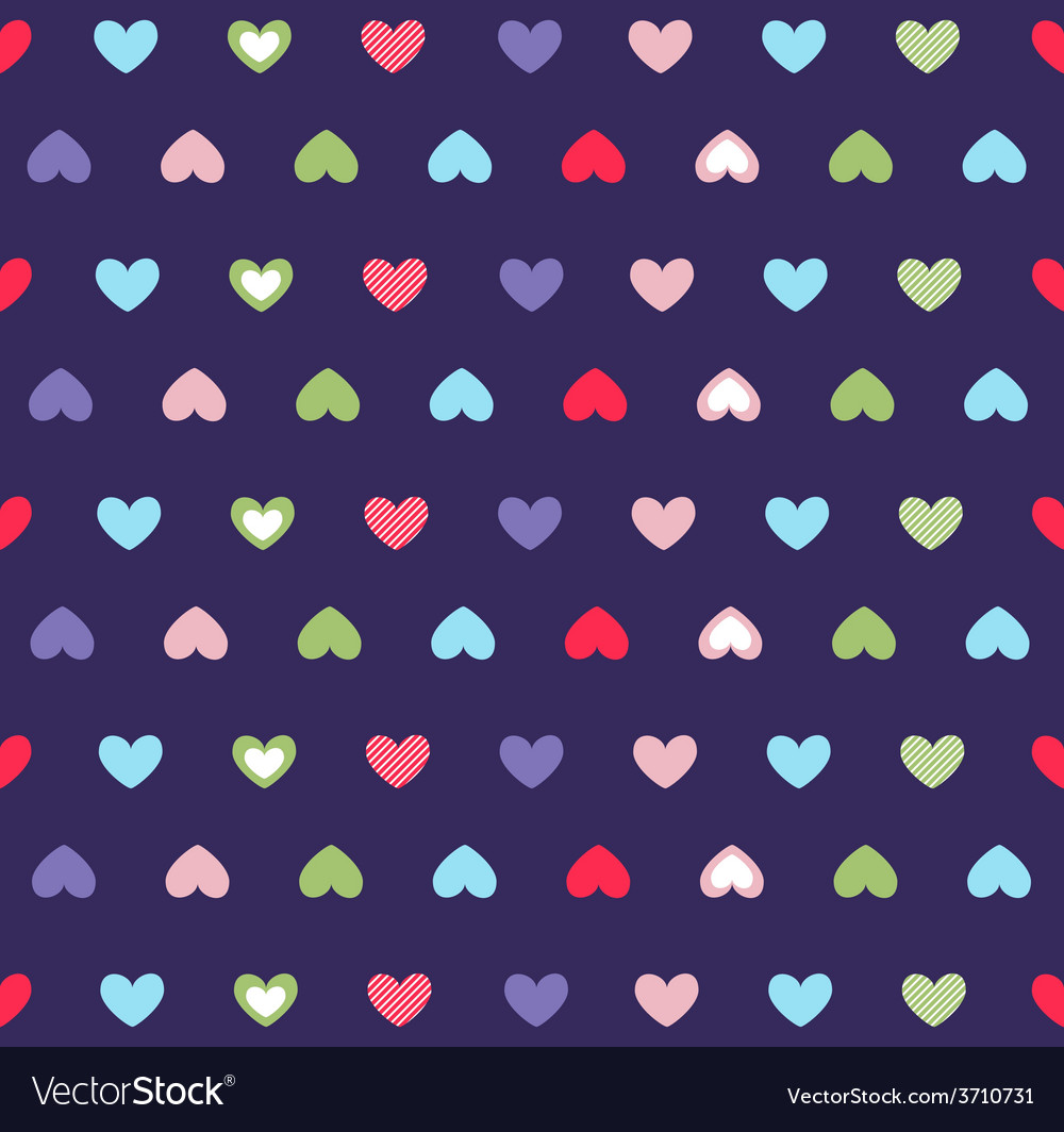 Hearts background valentines day vector | Price: 1 Credit (USD $1)