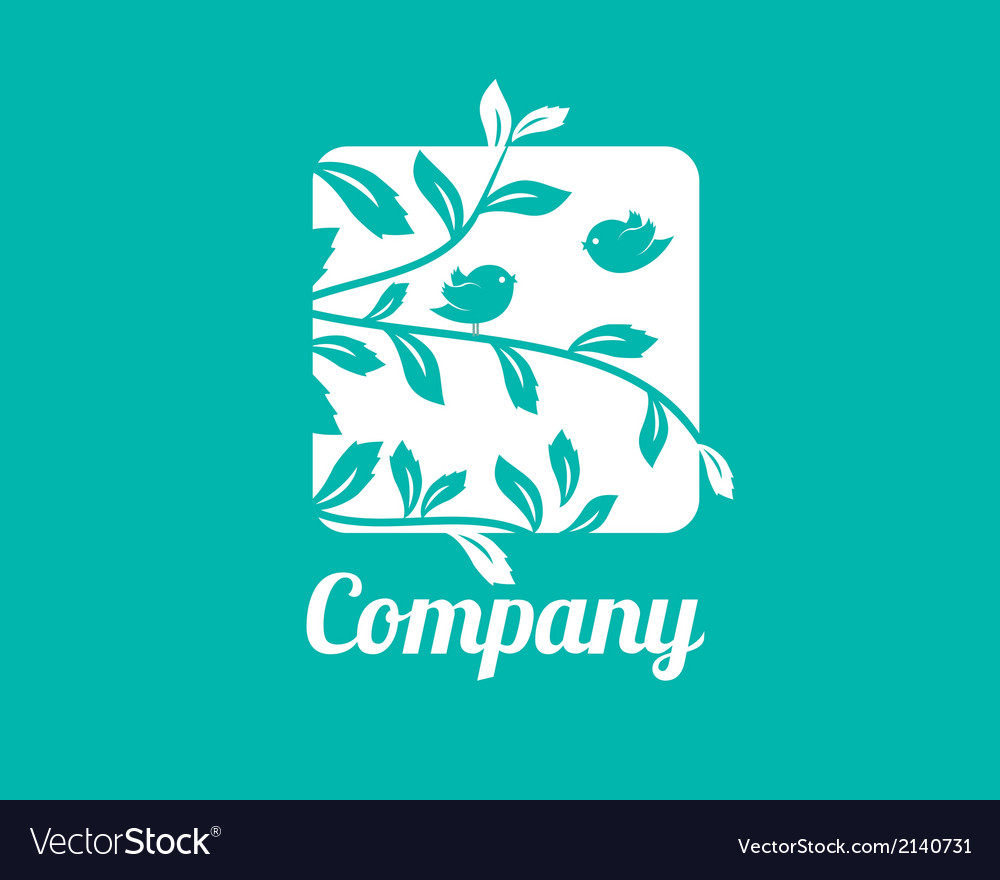 Little birds logo tempalte vector | Price: 1 Credit (USD $1)