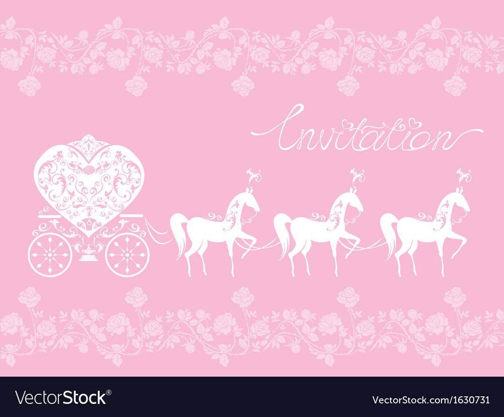 Pink greeting card with a lace ornament vector | Price: 1 Credit (USD $1)