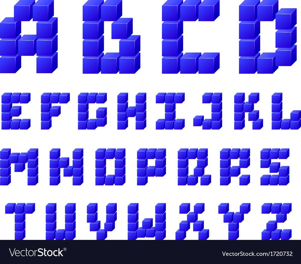 Alphabet vector | Price: 1 Credit (USD $1)