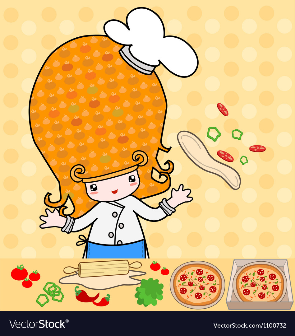 Little pizza vector | Price: 1 Credit (USD $1)