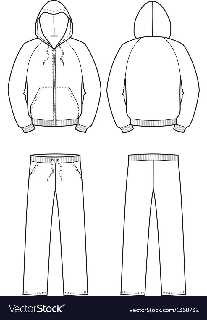Sport suit vector | Price: 1 Credit (USD $1)
