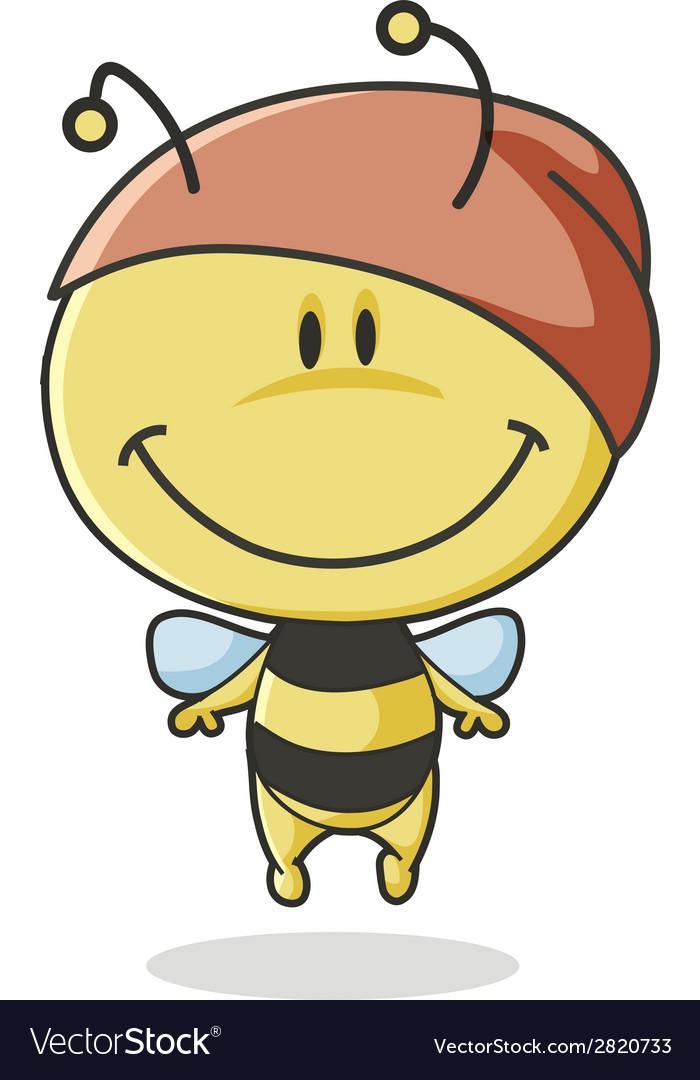 Bee mascot vector   Price: 1 Credit (USD $1)