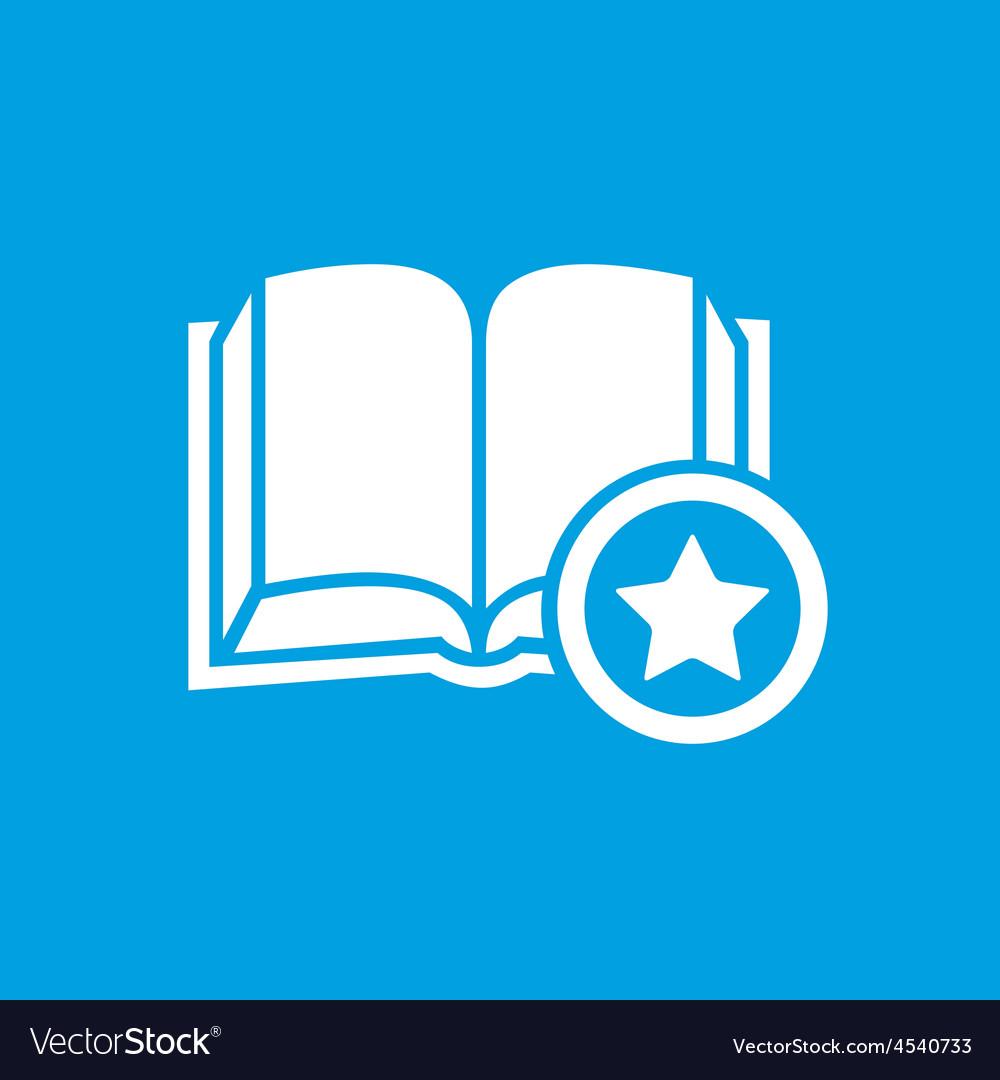 Favorite book symbol vector | Price: 1 Credit (USD $1)