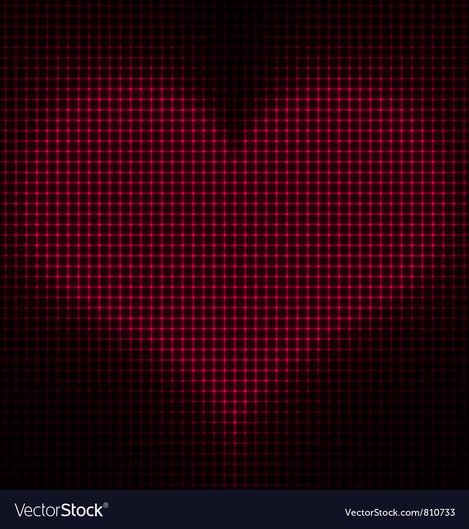 Glowing heart background vector   Price: 1 Credit (USD $1)