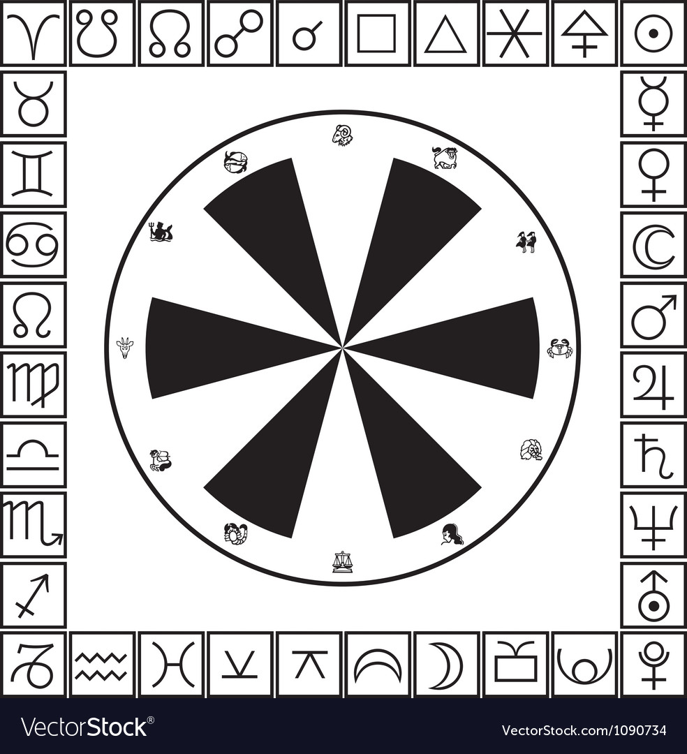 Astrology vector | Price: 1 Credit (USD $1)