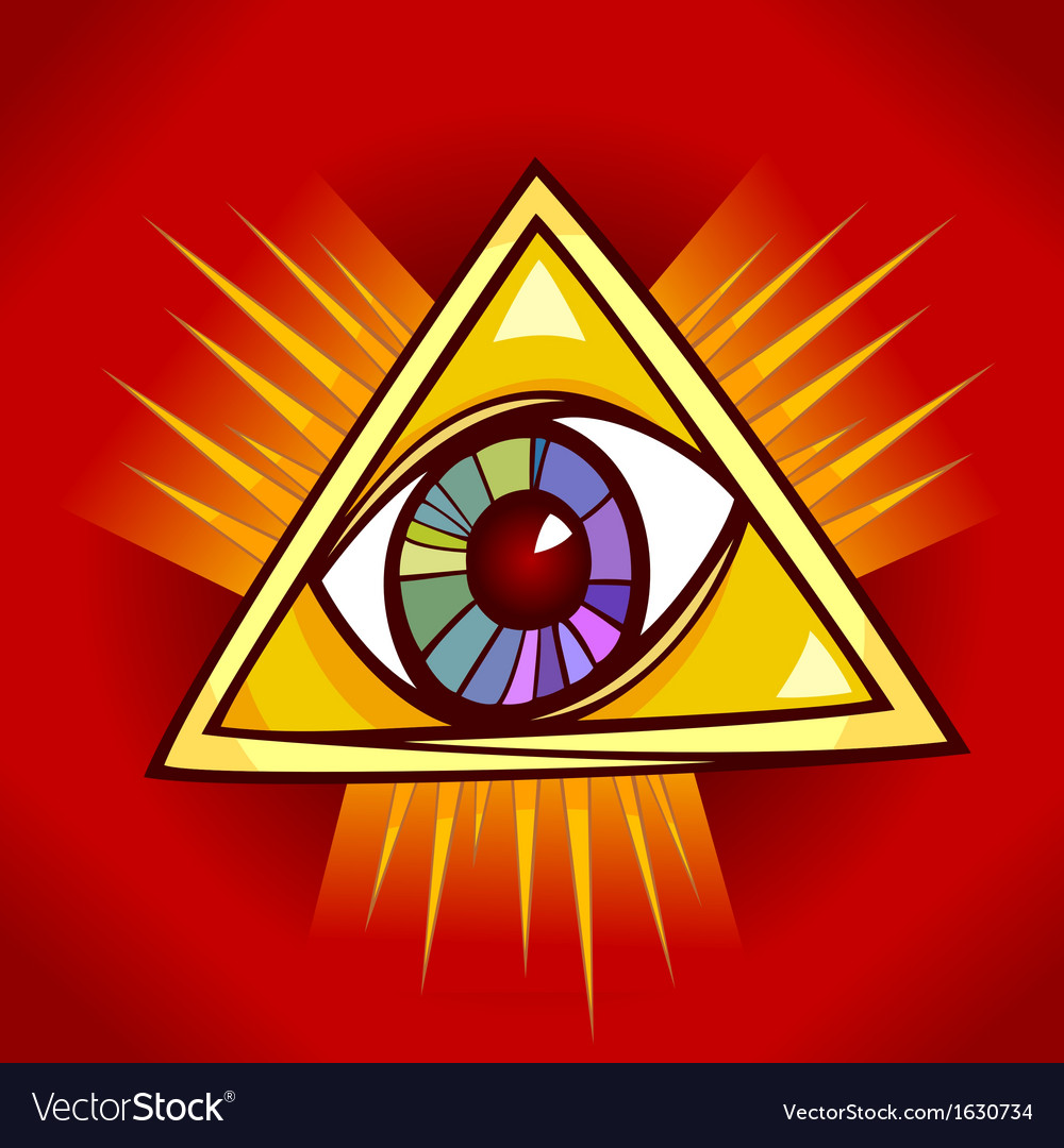 Eye of providence vector | Price: 1 Credit (USD $1)