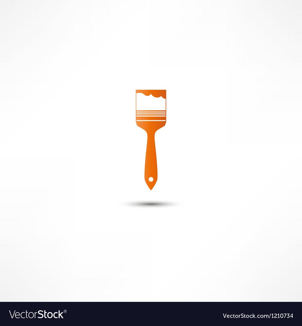 Paint brush icon vector | Price: 1 Credit (USD $1)