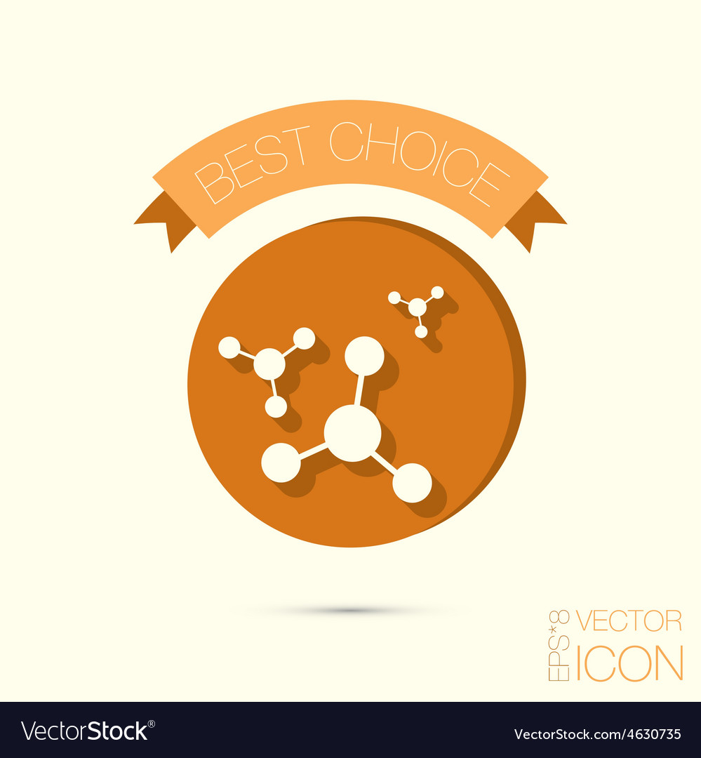 Microscope symbol icon studying biology or vector | Price: 1 Credit (USD $1)
