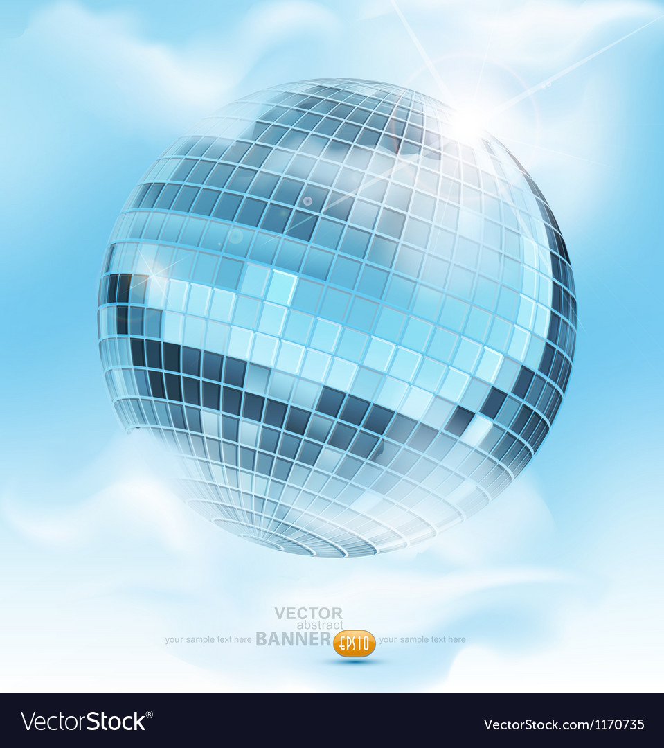 Mirrored disco ball vector | Price: 3 Credit (USD $3)
