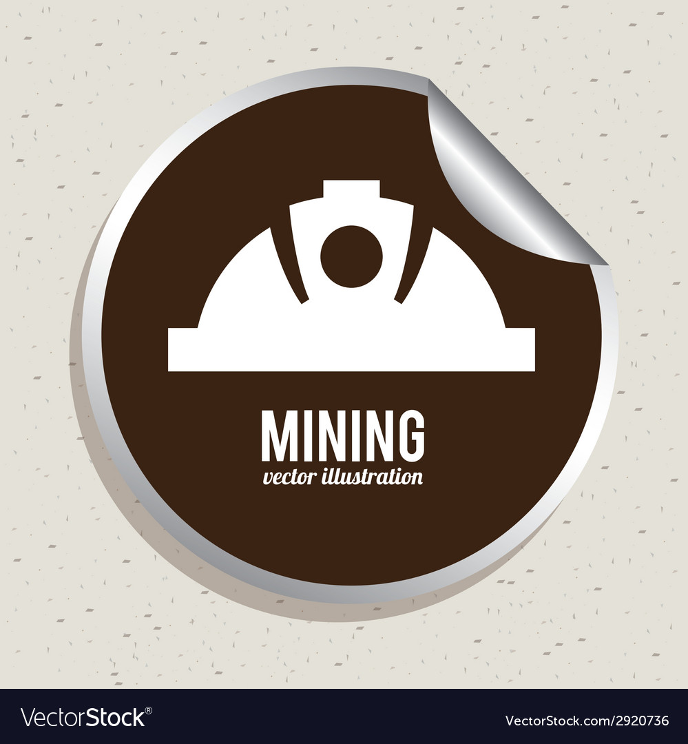 Mining design vector | Price: 1 Credit (USD $1)