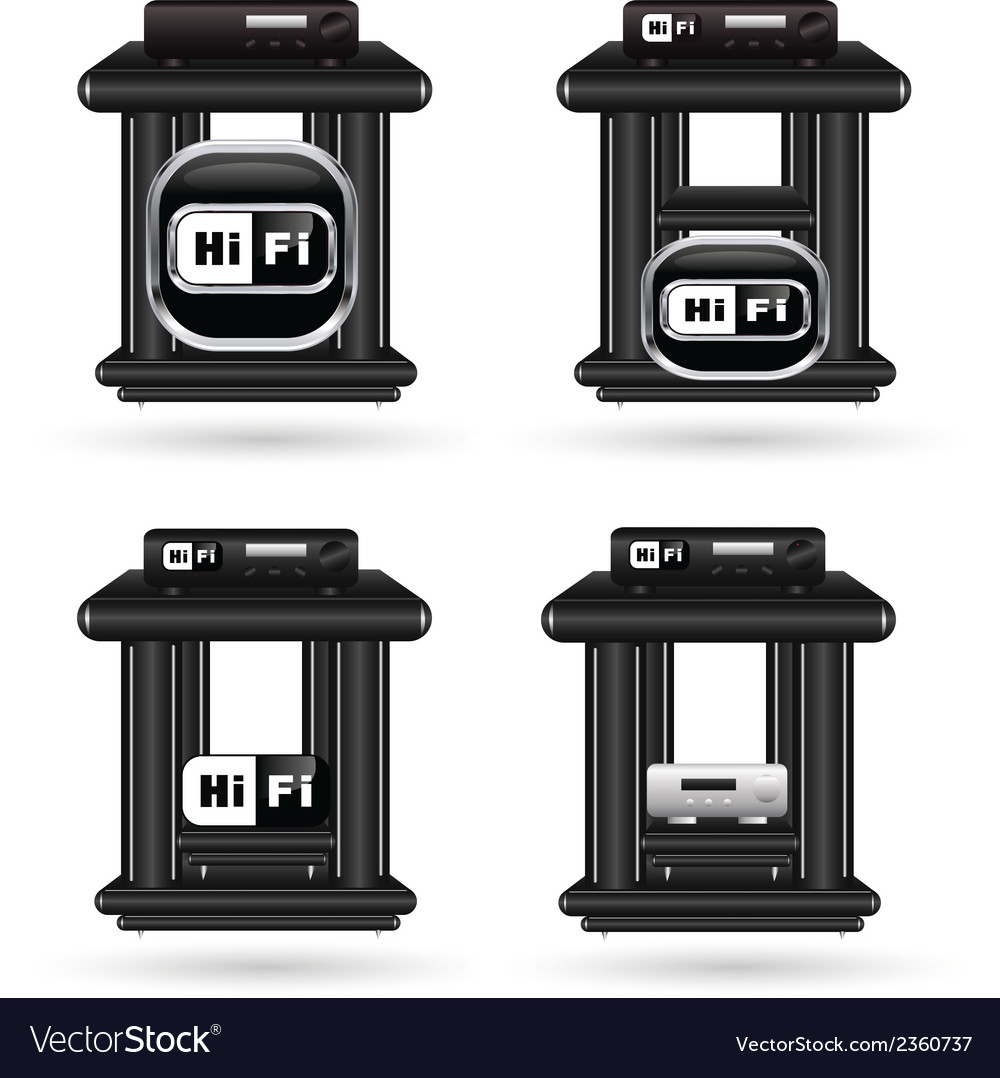 Hifi 01 vector | Price: 1 Credit (USD $1)