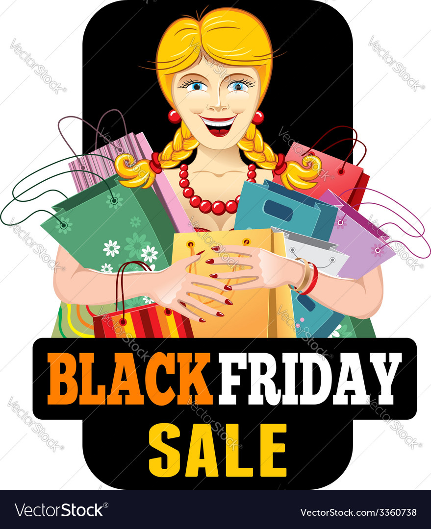 Black friday sale vector | Price: 3 Credit (USD $3)