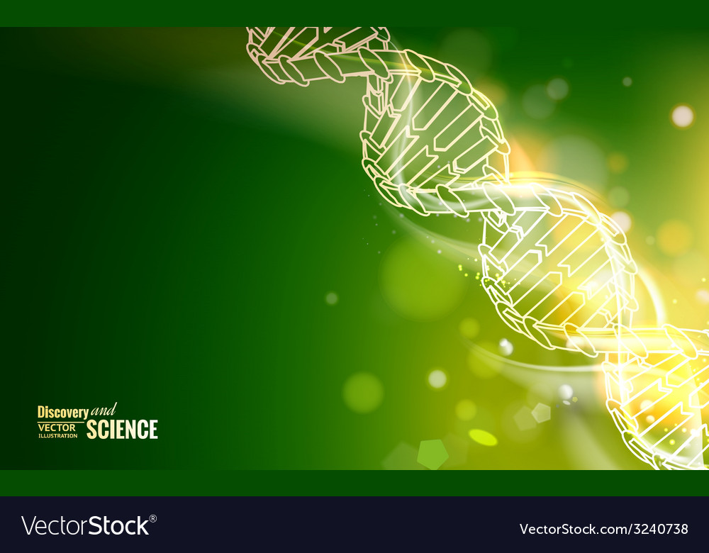 Dna chain vector | Price: 1 Credit (USD $1)
