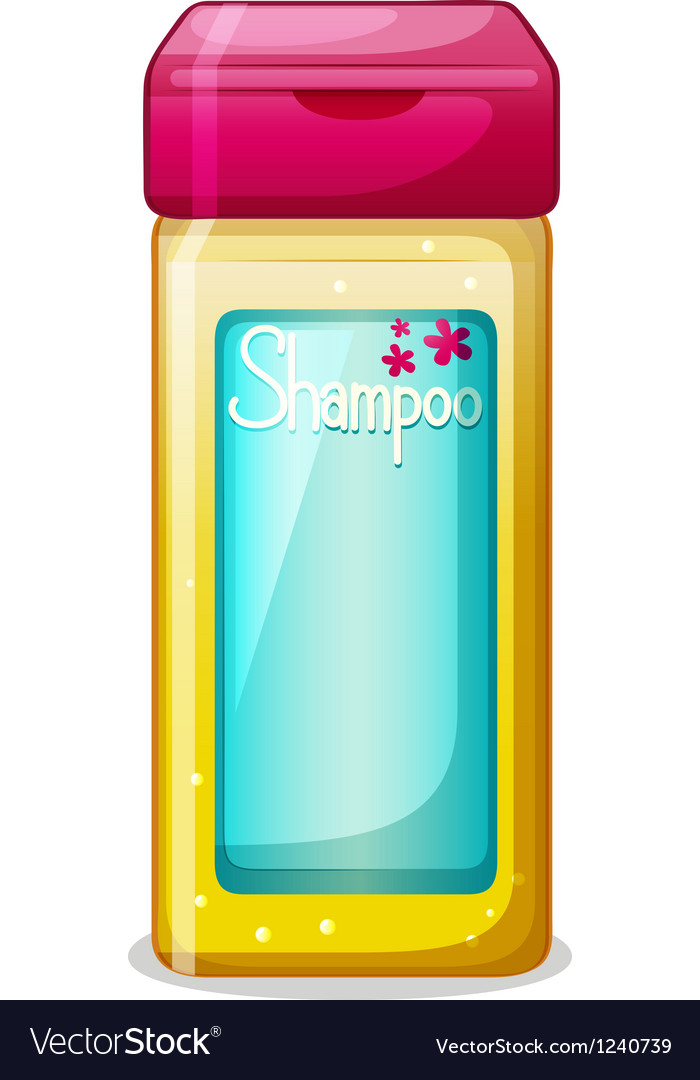 A bottle of shampoo vector | Price: 1 Credit (USD $1)