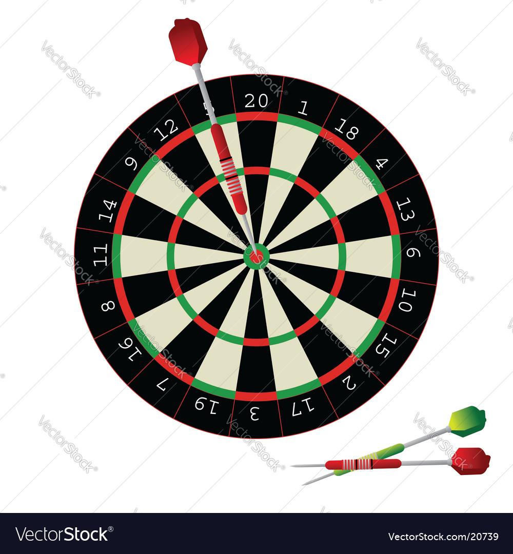Darts game vector   Price: 1 Credit (USD $1)