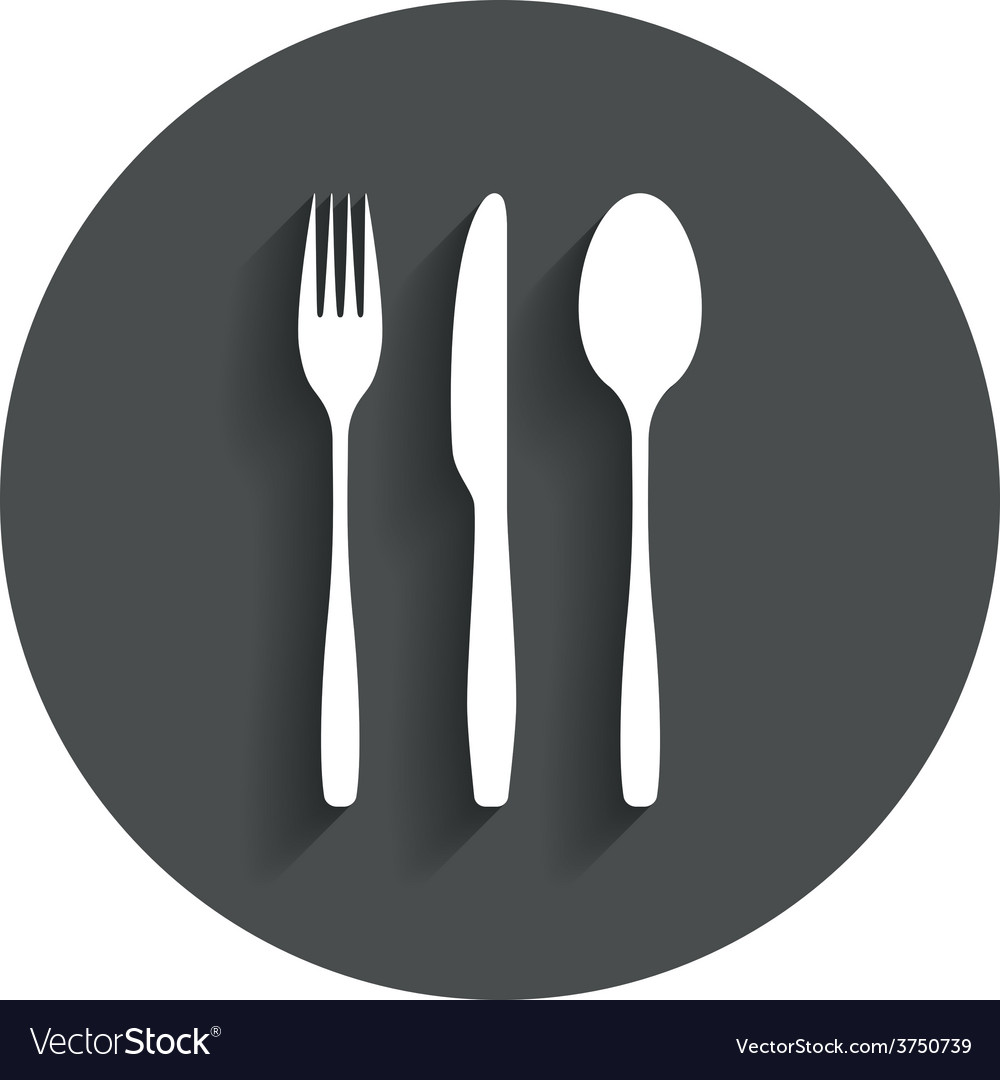 Fork knife tablespoon cutlery set vector | Price: 1 Credit (USD $1)