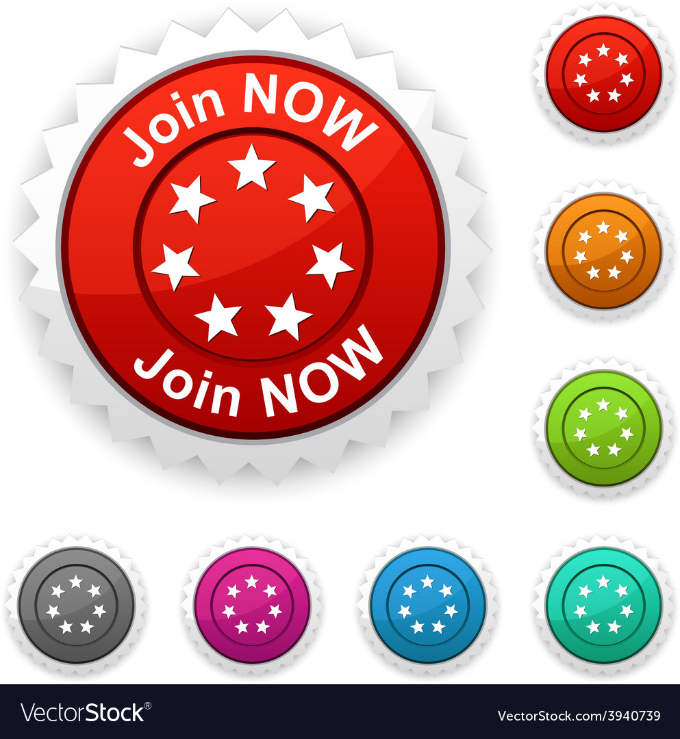 Join now award vector | Price: 1 Credit (USD $1)