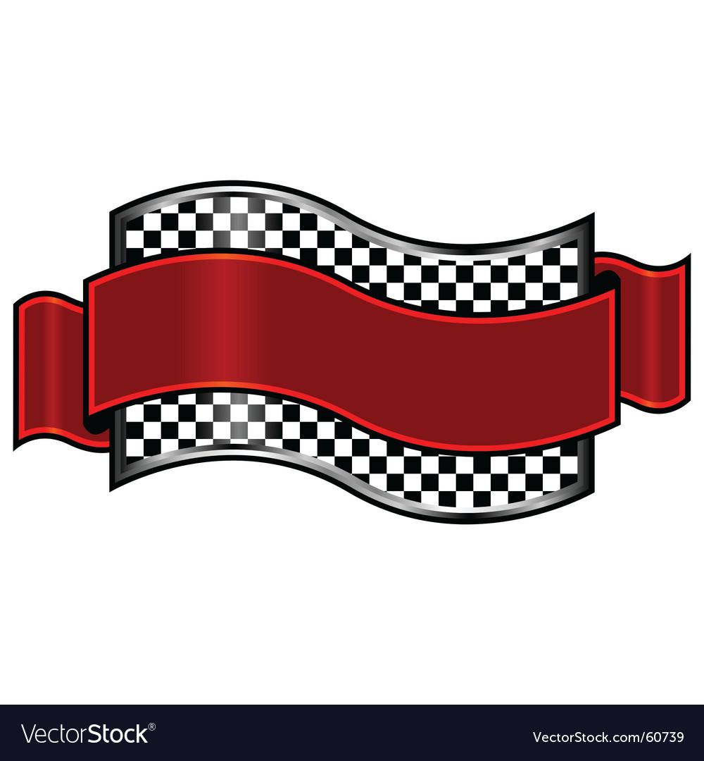 Race badge vector | Price: 1 Credit (USD $1)