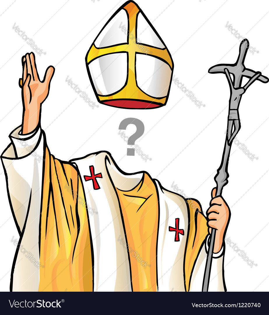 Election of the new pope vector | Price: 3 Credit (USD $3)